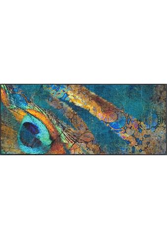 wash+dry by Kleen-Tex Teppich »Exotic Pavo«, rechteckig, 7 mm Höhe, In- und Outdoor... kaufen