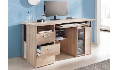 Maja Möbel Computertisch »Heide«, mit Tastaturauszug und Druckerfach kaufen