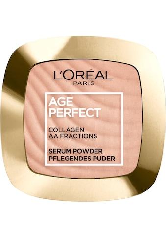 L'ORÉAL PARIS Puder »Age Perfect pflegendes Puder« kaufen