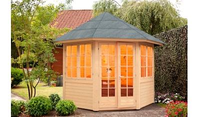 WOLFF FINNHAUS Holzpavillon »Palma«, BxT: 347x347 cm kaufen