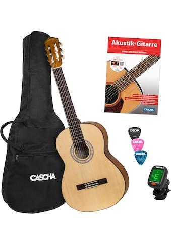 """Cascha Konzertgitarre """"Student Series"""" 4/4 kaufen"""