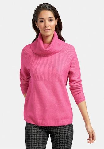 MYBC Strickpullover »Rollkragen-Pullover«, mit Rippenmuster kaufen