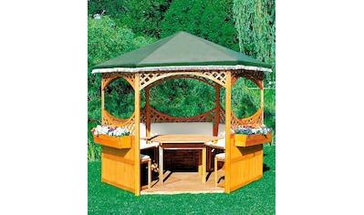 PROMADINO Holzpavillon »Palma«, BxT: 308x308 cm kaufen