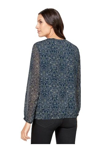 Inspirationen Bluse mit transparenter Spitze kaufen