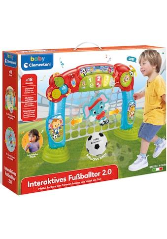 Clementoni® Lernspielzeug »Baby Clementoni - Interaktives Fußballtor«, Made in Europe,... kaufen