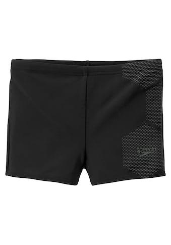 Speedo Boxer-Badehose, mit coolem Kontrastprint kaufen