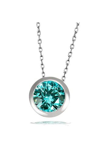 goldmaid Collier, Silber 925 mit grünem Zirkonia kaufen
