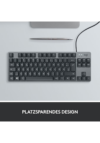 Logitech Tastatur »K835 TKL«, (USB-Anschluss-Fn-Tasten) kaufen