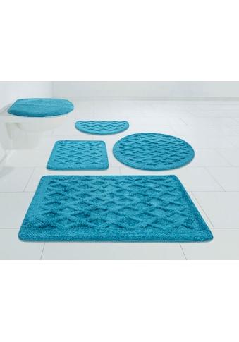 DELAVITA Badematte »Aidan«, Höhe 25 mm, strapazierfähig, 3D-Effekt kaufen