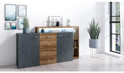 TRENDMANUFAKTUR Sideboard »Bota«, Breite 180 cm kaufen