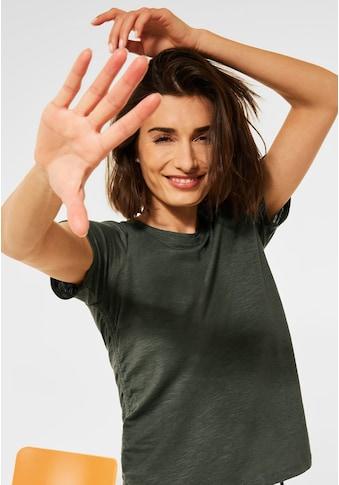 Cecil T-Shirt, mit Raffung kaufen
