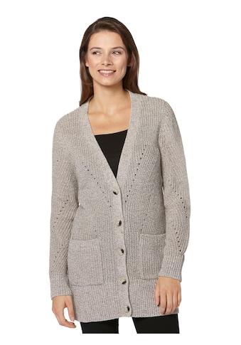 Ambria Strickjacke mit Ajour - Muster kaufen