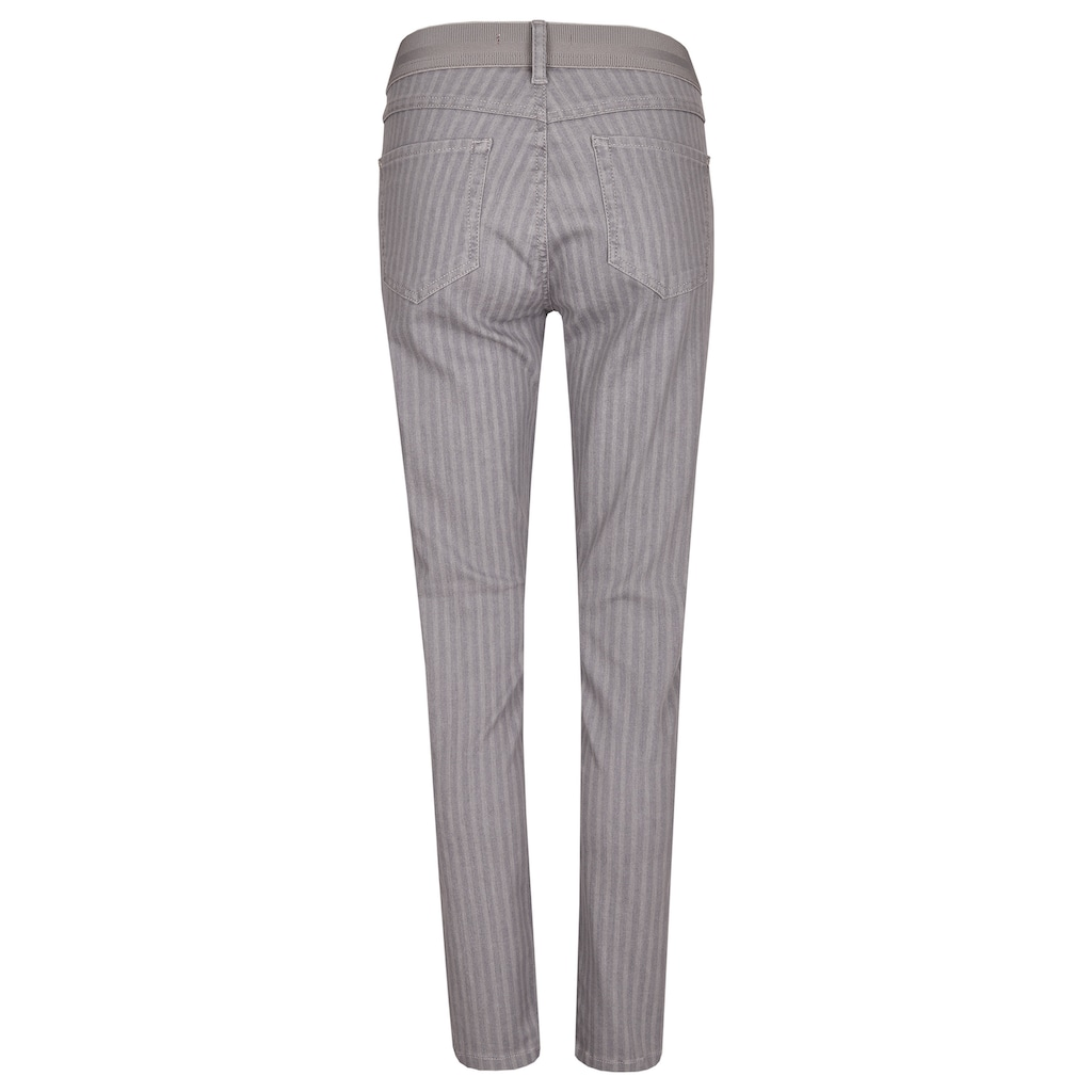 ANGELS Skinny-fit-Jeans, 'ONE SIZE' mit feinem Streifen-Muster