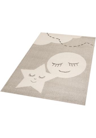 Zala Living Kinderteppich »Star and Moon«, rechteckig, 18 mm Höhe, Spielteppich,... kaufen