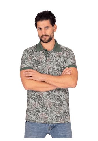 Trigema Poloshirt, mit sommerlichem Muster kaufen