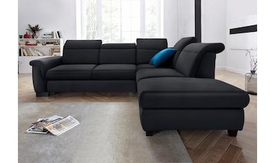 DOMO collection Ecksofa, wahlweise mit Bettfunktion und Rückenverstellung kaufen