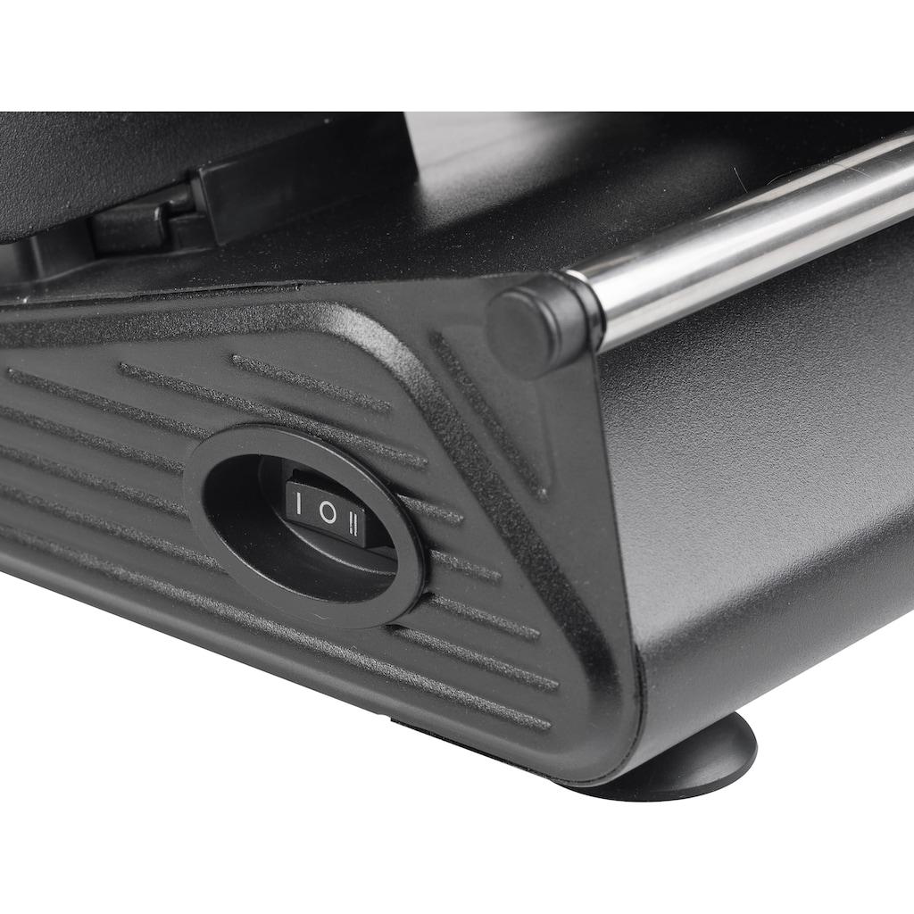bestron Allesschneider »AFS9003«, 150 W, Schnittstärke 0-15 mm, 2 Geschwindigkeiten, Schwarz