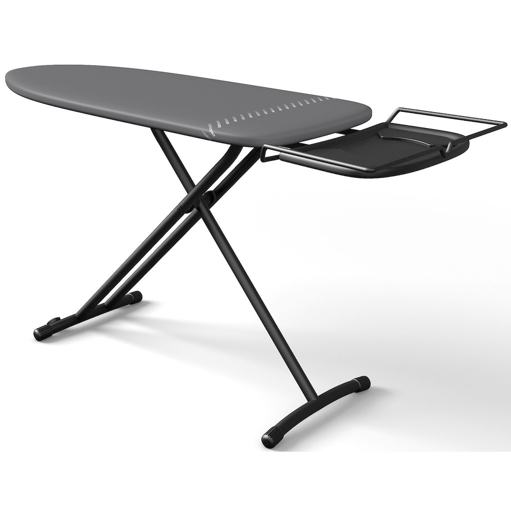 LAURASTAR Bügelbrett »PLUSBOARD«, Bügelfläche 125 cmx42 cm, elegantes Design