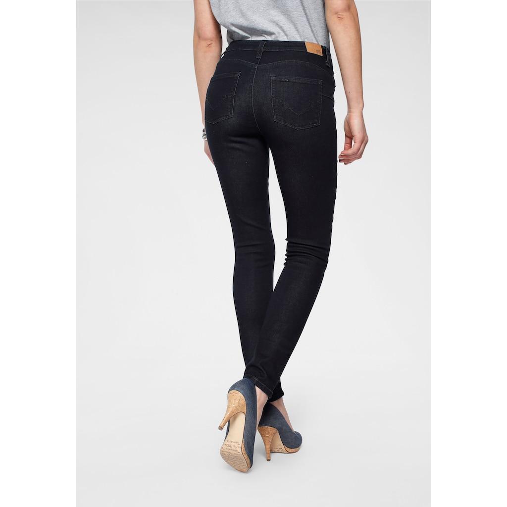 H.I.S Skinny-fit-Jeans »Shaping High-Waist mit Push-up Effekt«, Nachhaltige, wassersparende Produktion durch OZON WASH