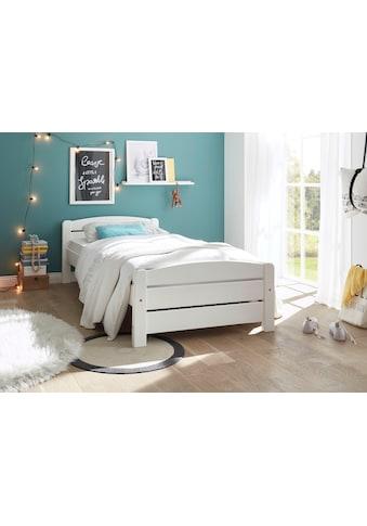 Begabino Einzelbett »Ivi«, aus massivem Kiefernholz kaufen