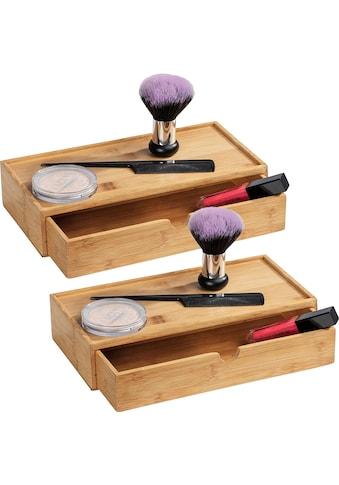 WENKO Aufbewahrungsbox »Terra«, (Set, 2 St.), mit Schubfächern kaufen