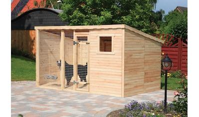 PROMADINO Hundezwinger BxTxH: 333x226x192 cm, inkl. Fußboden kaufen