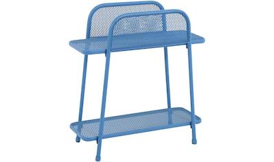 GARDEN PLEASURE Regal »Shelfo«, Metall, 55x27x70 cm, blau kaufen