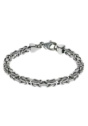Firetti Silberarmband »in Königskettengliederung 4-kant, 5,0 mm breit«, Made in Germany kaufen