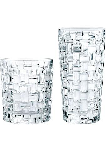 Nachtmann Gläser-Set »Bossa Nova«, (Set, 12 tlg., Fassungsvermögen: DOF 330ml, LD... kaufen