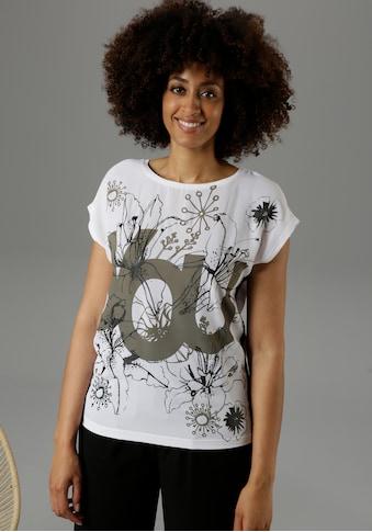 Aniston SELECTED Blusenshirt, mit Galonstreifen in der Seitennaht - NEUE KOLLEKTION kaufen