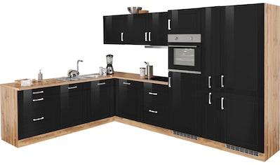 HELD MÖBEL Winkelküche »Tinnum«, mit E-Geräten, Stellbreite 240/330 cm kaufen