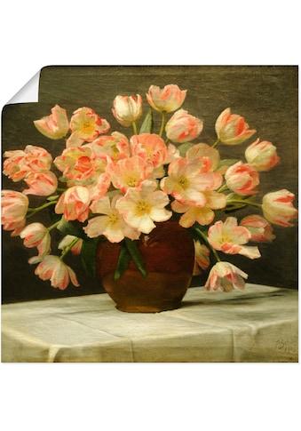 Artland Wandbild »Tulpen in einer Vase. 1915«, Blumen, (1 St.), in vielen Größen &... kaufen