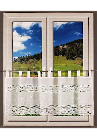HOSSNER - ART OF HOME DECO Querbehang »Drachensee«, m. Spitze kaufen
