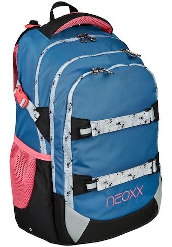 neoxx Schulrucksack »Active, Splash«, Reflektionsnaht, aus recycelten PET Flaschen kaufen