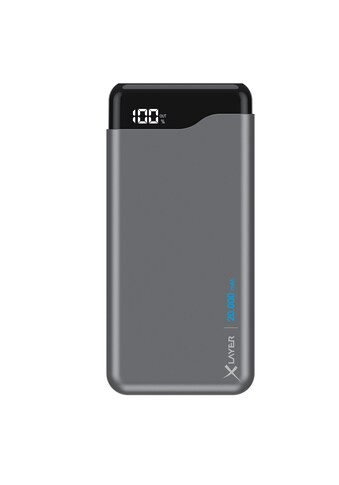 XLAYER Zusatzakku »Powerbank Micro PRO Space Grey 20000mAh Smartphone« kaufen