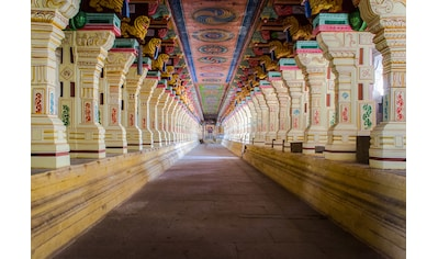 Papermoon Fototapete »Ramanathaswamy Tempel«, Vliestapete, hochwertiger Digitaldruck kaufen