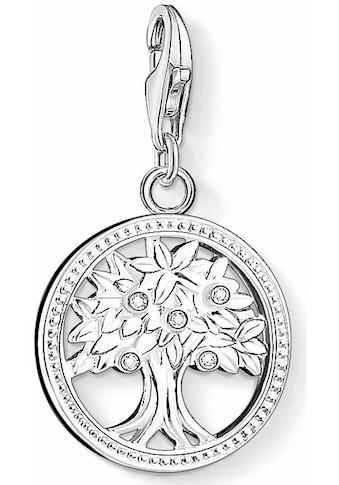 THOMAS SABO Charm-Einhänger »Lebensbaum, 1303-051-14«, mit Zirkonia kaufen
