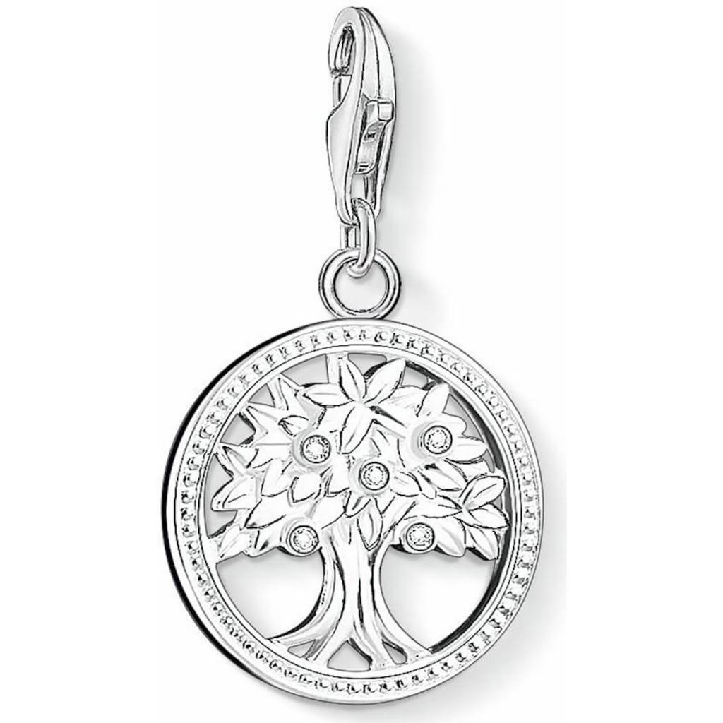 THOMAS SABO Charm-Einhänger »Lebensbaum, 1303-051-14«, mit Zirkonia
