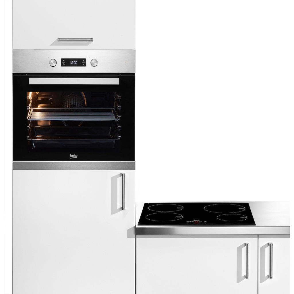 BEKO Backofen-Set »BSM22321X«, BIM22301X, Simple Steam Reinigungsfunktion, mit Umluft-Grill