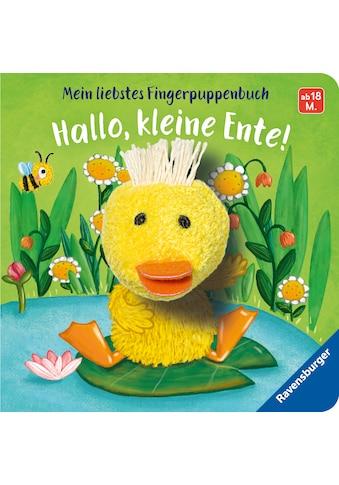 Buch »Mein liebstes Fingerpuppenbuch: Hallo, kleine Ente! / Bernd Penners, Martina... kaufen