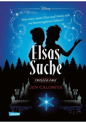 Buch »Disney - Twisted Tales: Elsas Suche (Die Eiskönigin) / Jen Calonita, Walt... kaufen
