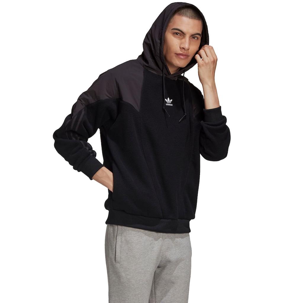 adidas Originals Fleecepullover »BIG TREFOIL MIX HOODY«