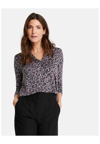 GERRY WEBER T - Shirt 1/2 Arm »Blusenshirt mit Ausbrenneroptik« kaufen