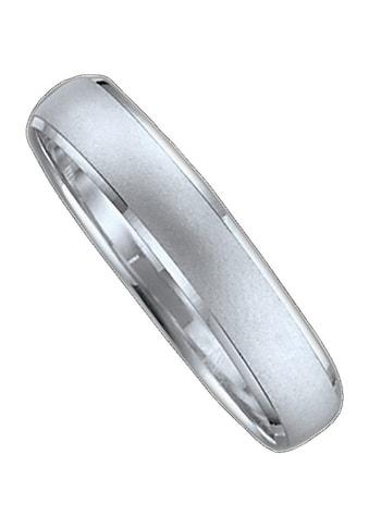Firetti Trauring mit Gravur »sandmatt, seitlich mit Diamantschnitt, 4,0 mm breit«,... kaufen
