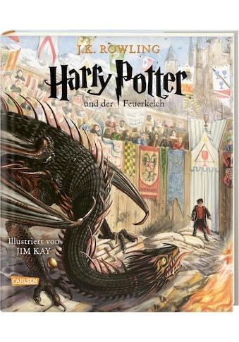 Buch Harry Potter und der Feuerkelch (farbig illustrierte Schmuckausgabe) (Harry Potter 4) / J.K. Rowling; Klaus Fritz; Jim Kay kaufen