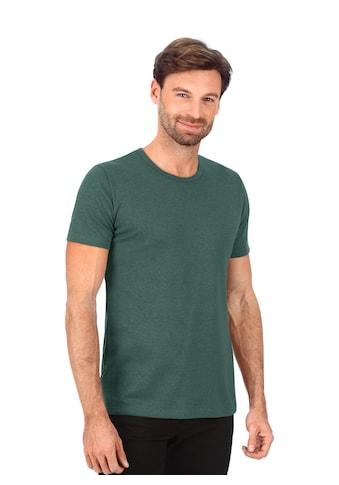 Trigema T-Shirt aus Baumwolle/Elastan kaufen