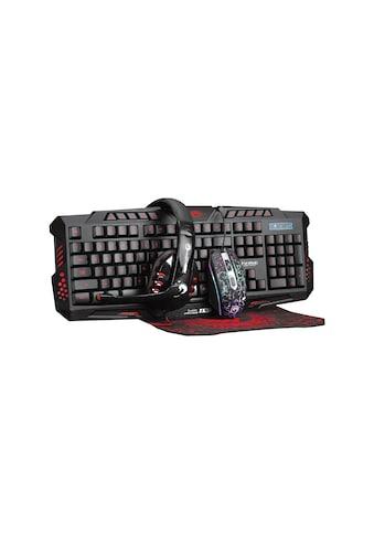 MARVO Marvo 4 in 1 Combo aus Tastatur, Maus, Headset und Mauspad »Marvo CM380« kaufen
