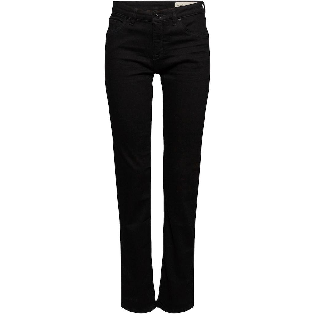 Esprit Stretch-Jeans, im 5-Pocket Stil im geraden Shape