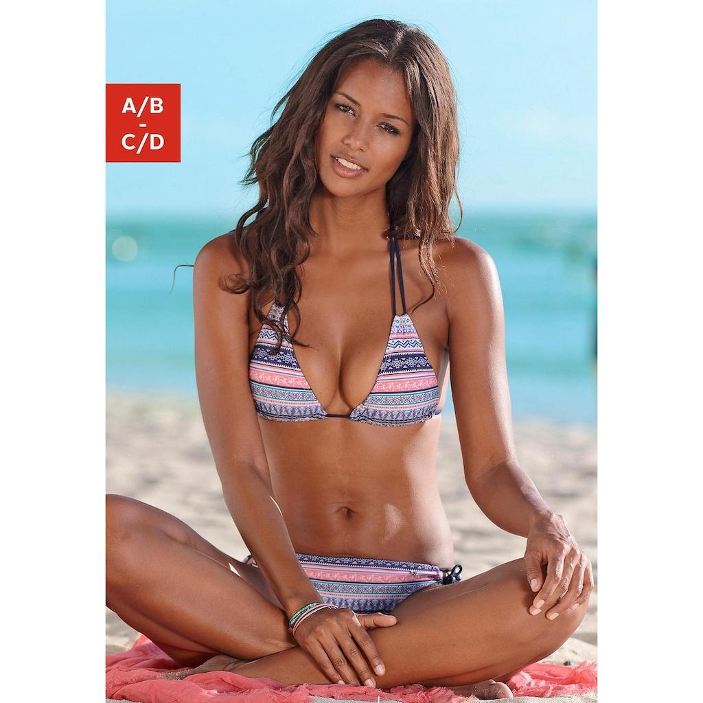 s.Oliver Triangel-Bikini-Top »Barcelona«, im Ethno-Design