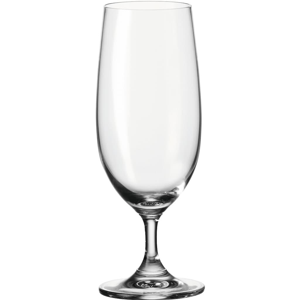LEONARDO Bierglas »Daily«, (Set, 6 tlg.), 360 ml, 6-teilig